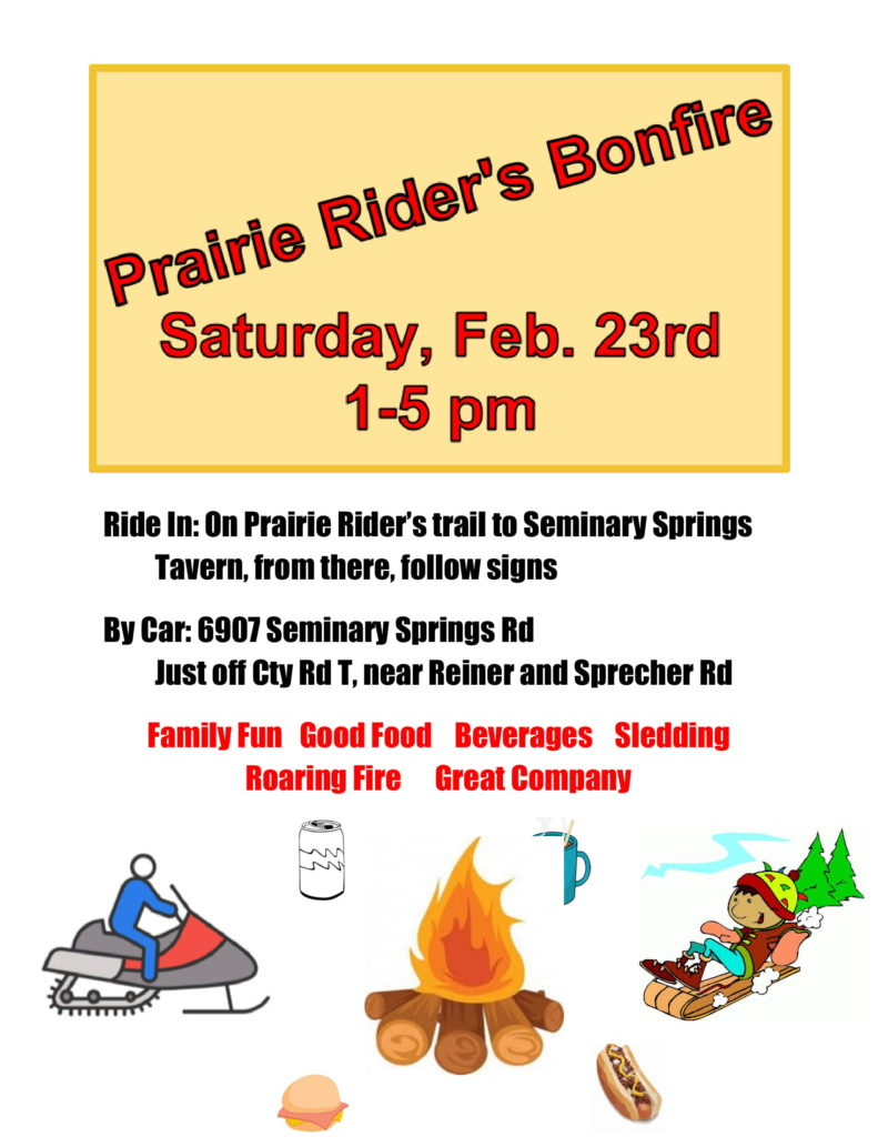 Prairie Riders Bonfire @ Meister Farm | Wisconsin | United States